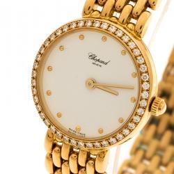 d634d16db Chopard White 18K Yellow Gold Classic 105911001 Women's Wristwatch 32 mm