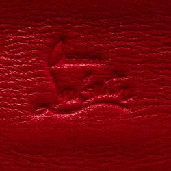 محفظة كريستيان لوبوتان كونتيننتال سويت شيريتي جلد رمادية