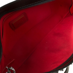 Christian Louboutin Black Spiked Peter Crossbody Bag