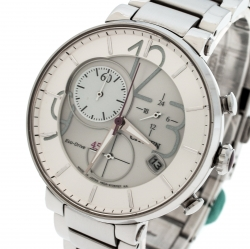 24674923b Citizen Silver Stainless Steel Eco-Drive Chronograph GN-4N-S→9 Women's