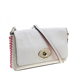 Coach Off White Leather Crosstown Crossbody Bag