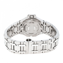 Concord Mother of Pearl Stainless Steel Diamonds Saratoga 14.E1.1855 Women's Wristwatch 28 mm