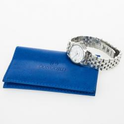 Concord Impresario Stainless Steel Womens Wristwatch 25 MM