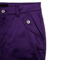 D&G Purple Satin Jeans L