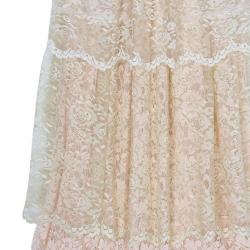 D&G Tiered Lace Dress S