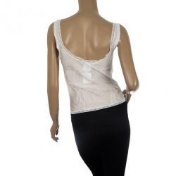 Dior White Lace Camisole