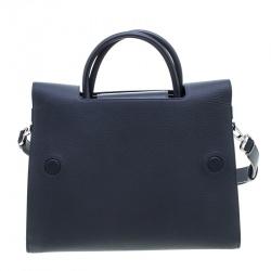 Dior Grey Leather Medium Diorever Bag