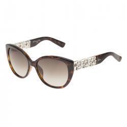Dior Tortoise Frame Mystere Cat Eye Sunglasses