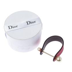 Dior Bicolor Leather Perle Bracelet S