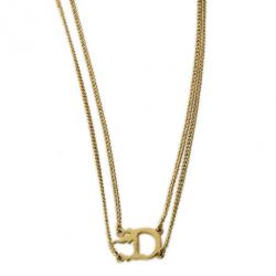Christian Dior D Necklace