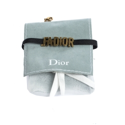 Dior Antique Gold Finish J'adior Choker Necklace