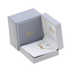 Dior Oui Diamond & 18k Yellow Gold Bracelet