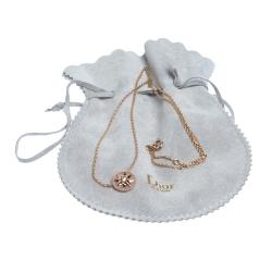 Dior Rose Des Vents Diamond Pink Opal 18K Rose Gold Necklace