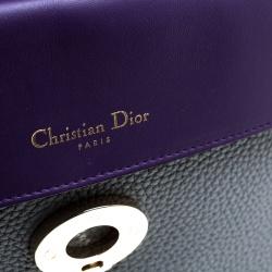 Dior Grey Leather Small Be Dior Shoulder Bag