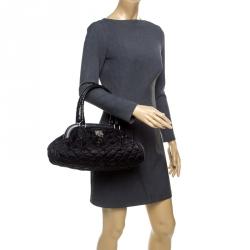 Dior Black Cannage Nylon Charming Doctor Bag