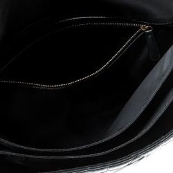Dior Black Quilted Leather Flap Shoulder Bag