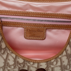 Dior Multicolor Monogram Coated Canvas and Leather Romantique Trotter Flap Bag