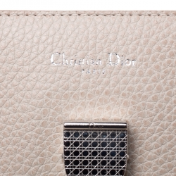 Dior Beige Leather Medium Diorever Bag