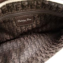 Christian Dior Fur Cow Print Shoulder Bag