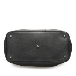 Dior Black Leather Granville Satchel
