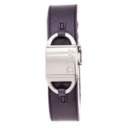 Dior Silver Stainless Steel Pandiora D78 Women's Wristwatch 18 mm
