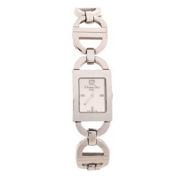 Dior Silver Stainless Steel Malice D78-109 Women's Wristwatch 19 mm