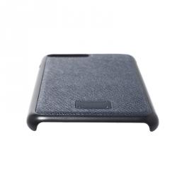 Dolce & Gabbana Navy Blue/Black Leather iPhone 7/8 Plus Case