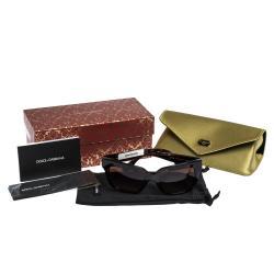 Dolce & Gabbana Brown Gradient/Havana DG4286 Sunglasses