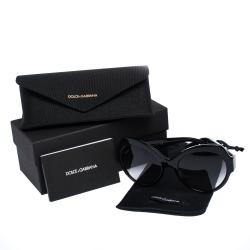 Dolce & Gabbana Grey Gradient/Black DG4320-F Sunglasses