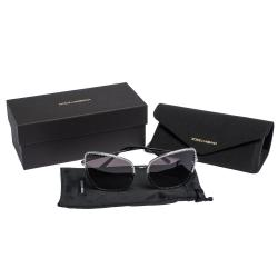 Dolce & Gabbana Grey Gradient/Black DG2212 Sunglasses