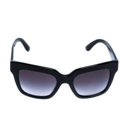 Dolce & Gabbana Black/ Grey Gradient DG 4286 Square Sunglasses
