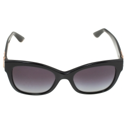 Dolce & Gabbana Black/ Grey Gradient DG 4309 Cat Eye Sunglasses