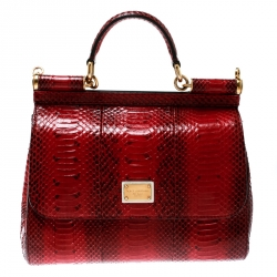 a525e59b3c5 Buy Pre-Loved Authentic Dolce and Gabbana Exotic bags for Women ...