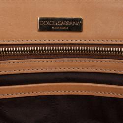 Dolce and Gabbana Leopard Satchel