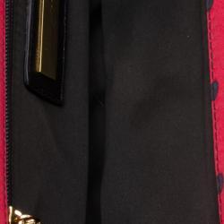 Dolce and Gabbana Red Polka Dots Clutch