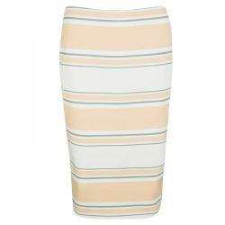 Elizabeth and James Striped Aisling Pencil Skirt S