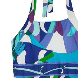 Emilio Pucci Printed Stretch Dress M