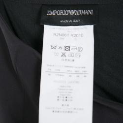 Emporio Armani Black Gonna Maxi Skirt L
