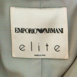 Emporio Armani Elite Multicolor Crystal Embellished Mandarin Collar Jacket M