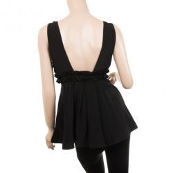Emporio Armani Black Embellished Top S