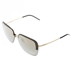 Emporio Armani Gold/Brown EA2045 Wayfarer Sunglasses