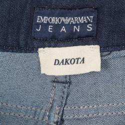 Emporio Armani Indigo Dark Wash Denim Skinny Dakota Jeans M
