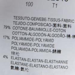 Emporio Armani White Frill Cuff Detail Long Sleeve Shirt L