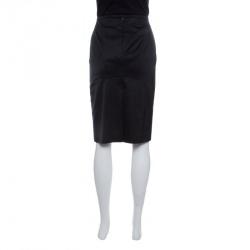 Emporio Armani Black Pencil Skirt M