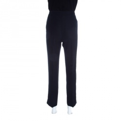 Emporio Armani Navy Blue Tailored Trousers M