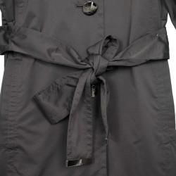 Escada Puff Sleeves Polyester Trench Coat S