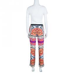 Etro Multicolor Printed Pants S