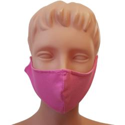 Non-Medical Handmade Pink Cotton Face Mask - Pack of 5