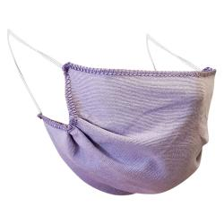Non-Medical Handmade Purple Cotton Face Mask - Pack of 5 (Available for UAE Customers Only)