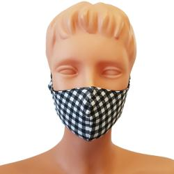 Non-Medical Handmade Checks Cotton Face Mask - Pack Of 10 (Available for UAE Customers Only)